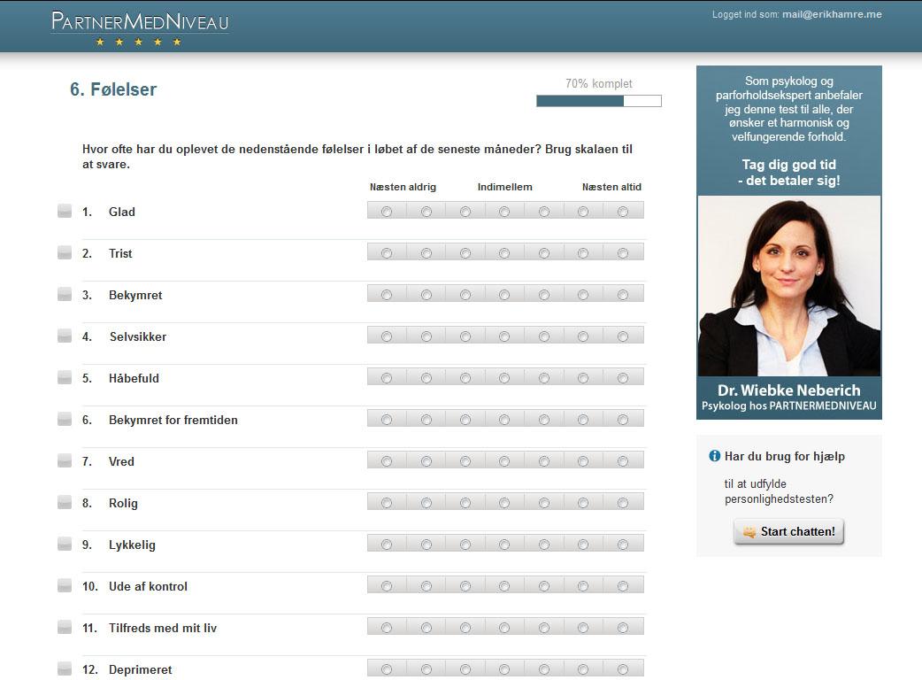 eharmony dating profil eksempel